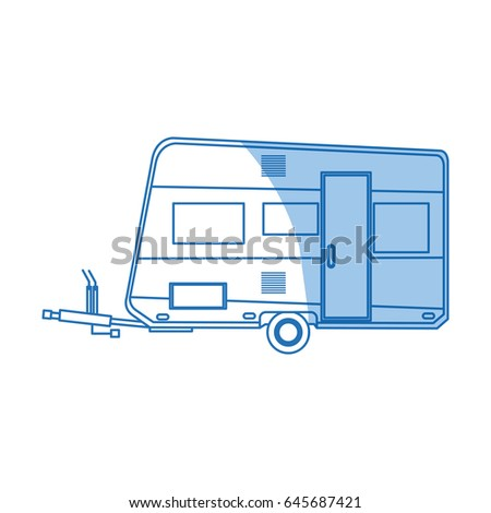 Trailer Camping Vehicle Home Transport
