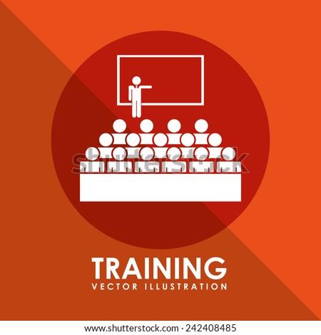 training icon - stock vector