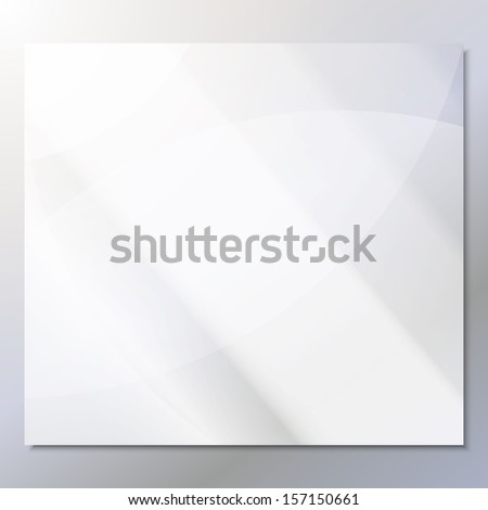 transparent glass on a gray background vector - stock vector
