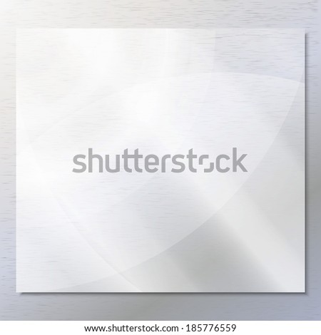 Transparent glass on the gray background vector - stock vector
