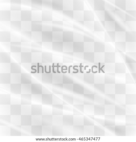 Transparent Plastic Wrap Texture Stock Vector 465347477