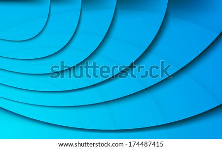 Transparent wavy banner template. Clip-art - stock vector