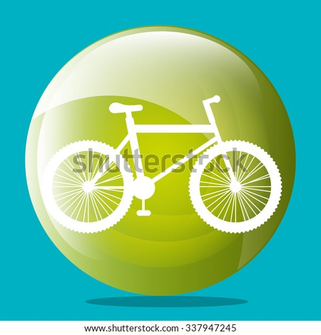 Transport vehicles on round icon, vector illustration graphic