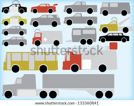 Transportation - stock vector