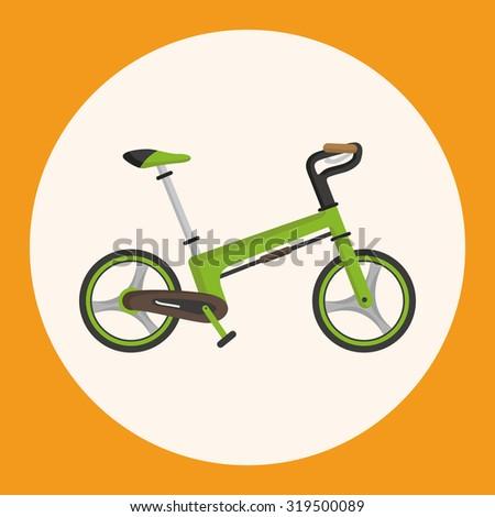 transportation bike theme elements vector,eps - stock vector