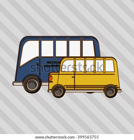 Transportation icon design, vector illustration