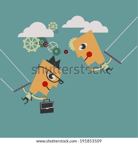 Trapeze Stock Photos, Illustrations, and Vector Art