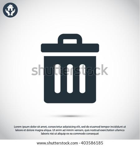 Trash  icon, trash  vector icon, trash  icon illustration, trash  icon eps, trash  icon jpeg, trash  icon picture, trash  flat icon, trash  icon design, trash  icon web, trash  icon art, trash ui icon - stock vector