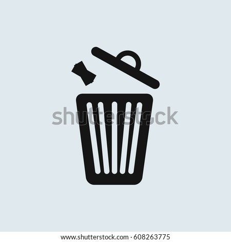 trash icon stock images royaltyfree images amp vectors