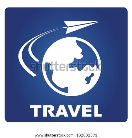 travel - stock vector