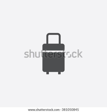 travel bag Icon Vector. travel bag Icon Art. travel Icon object. travel Icon Image. travel Icon logo. travel Icon Sign. travel Icon Flat. travel Icon design. travel icon app. travel icon simple - stock vector