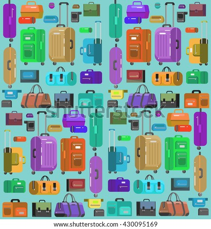 Travel bags in various colors