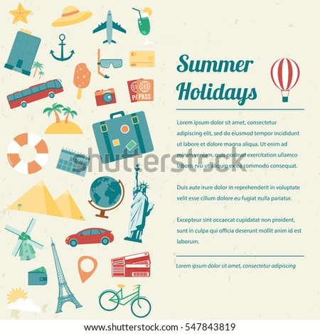 Travel Brochure Stock Images RoyaltyFree Images  Vectors