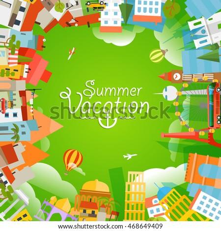Ice Cream Background Stock Vector 111671918 Shutterstock