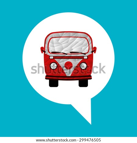 travel icon design, vector illustration eps10 graphic  - stock vector