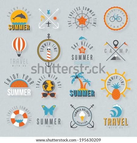 Travel illustration - stock vector