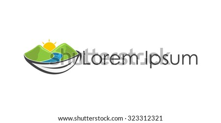 Travel & Leisure icon - stock vector