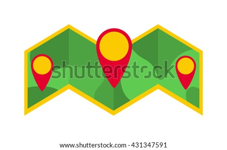 Travel route map planet and plane map global business continent. World map symbol land ocean abstract map icon. Travel map vector icon isolated. World map travellers picture frame travel geography - stock vector