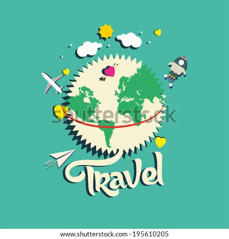 travel vector illustration - stock vector