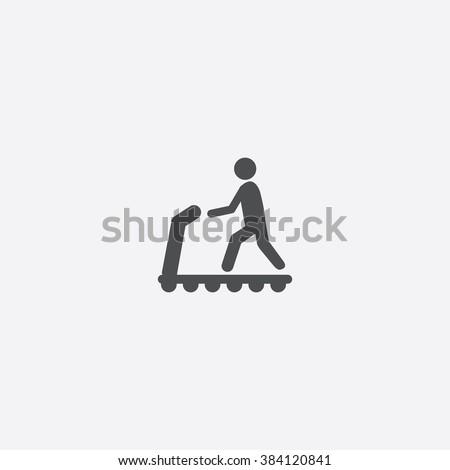 Treadmill Icon. Treadmill Icon Vector. Treadmill Icon Art. Treadmill Icon eps. Treadmill Icon Image. Treadmill Icon logo. Treadmill Icon Sign. Treadmill Icon Flat. Treadmill Icon design - stock vector