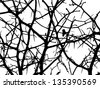 tree branches - stock vector