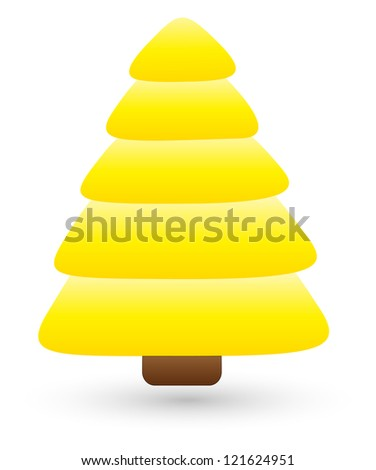 Tree - Christmas Vector Illustration