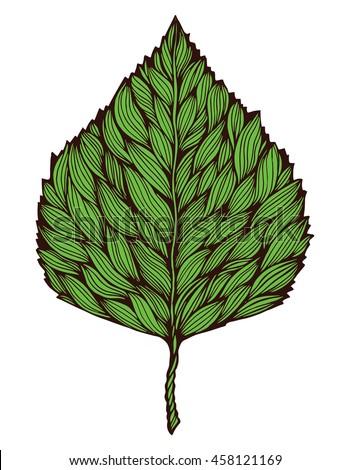 Maple Leaf Tattoo Stock Images