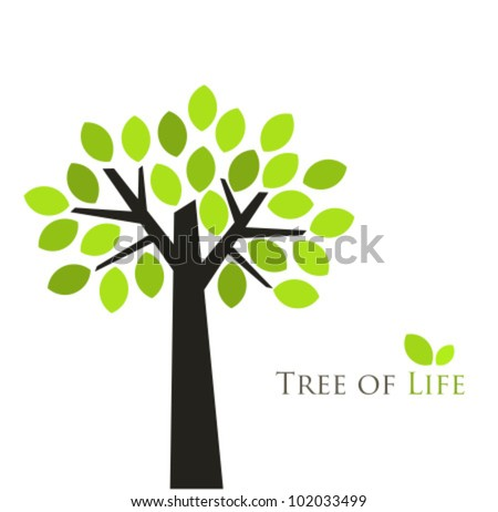 Tree of life. Vector illustration - stock vector