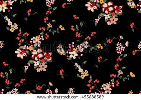 Flower Pattern Stock I...