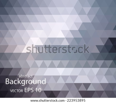 Trendy vector the background of geometric patterns - stock vector