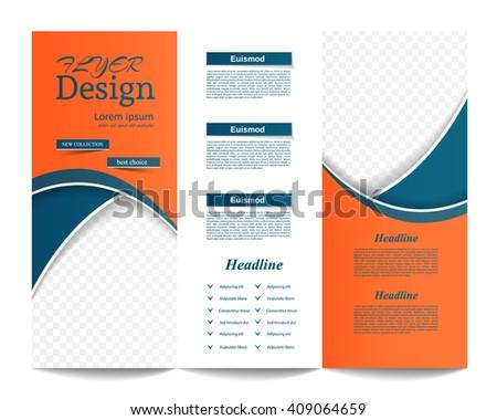 Tri-fold brochure book report