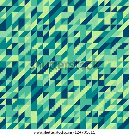 triangle - stock vector