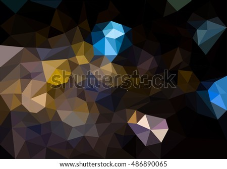 triangle abstract background.