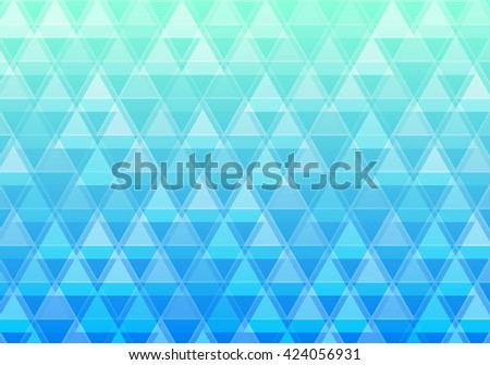 Triangle background. Abstract geometric background. Vector background.