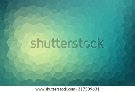Triangle colorful abstract background. Vector illustration for web design - stock vector