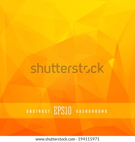 Triangle colorful abstract design background template - stock vector