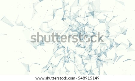 triangle mosaic vector background design