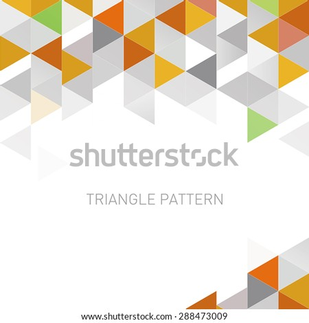triangle pattern background 2 - stock vector