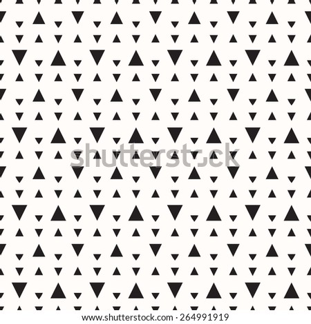 Triangle seamless pattern. - stock vector