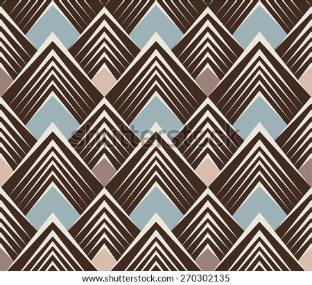 Triangle Wallpaper Pattern - seamless - stock vector