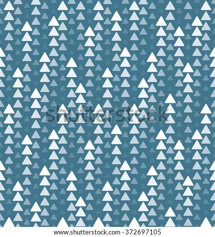 Triangles high tech seamless background - stock vector