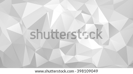 Triangular abstract background. EPS 10 Vector illustration.  - stock vector