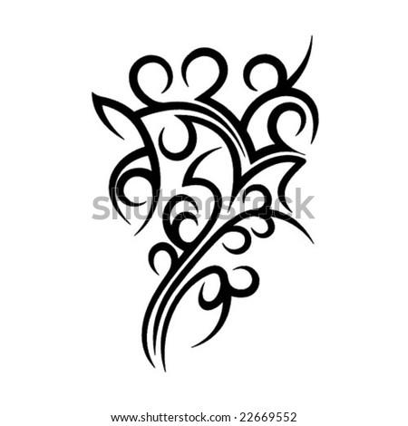 Tribal design - stock vector