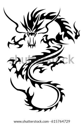 tribal scorpion tattoo stock vector 9850396 shutterstock. Black Bedroom Furniture Sets. Home Design Ideas