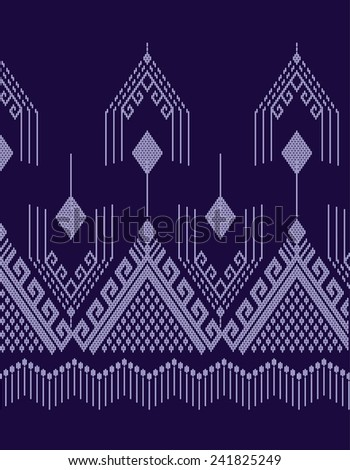 Tribal ethnic.Designs for fabric and printing.Abstract beautiful background.Vector pattern. - stock vector