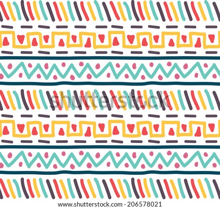 tribal pattern - stock vector