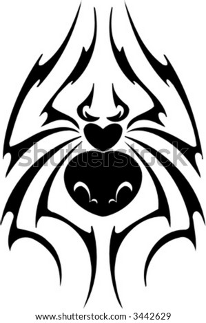 Displaying 19 Gallery Images For Tribal Spider Tattoo