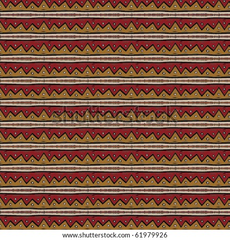 Tribal vector pattern - stock vector