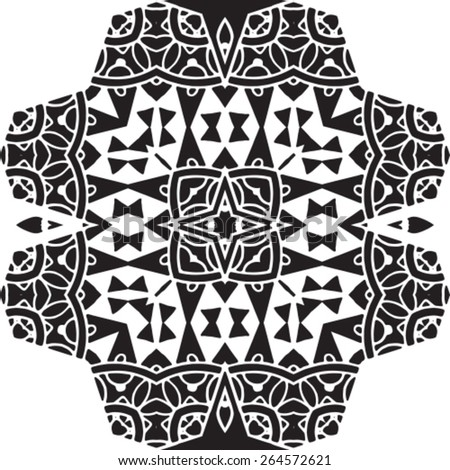 Tribal vector seamless pattern. African pattern can be used for wallpaper, pattern fills, web page background,surface textures. seamless background - stock vector