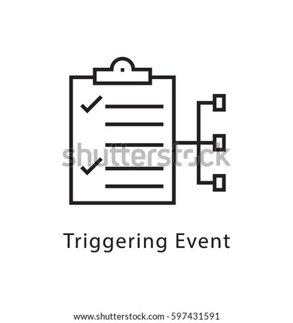 Stock options triggering event